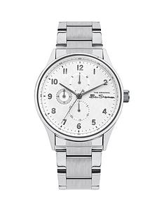 ben-sherman-ben-sherman-white-multi-dial-stainless-steel-bracelet-mens-watch