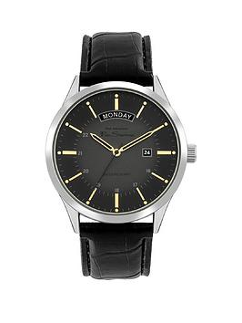 ben-sherman-ben-sherman-grey-and-gold-detail-daydate-dial-black-leather-strap-mens-watch