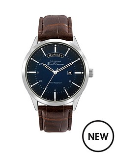 ben-sherman-ben-sherman-blue-and-silver-detail-daydate-dial-brown-leather-strap-mens-watch