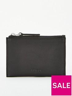 hugo-subway-leather-coin-pocket-black