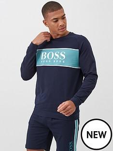 boss-bodywear-authentic-sweatshirt-navy