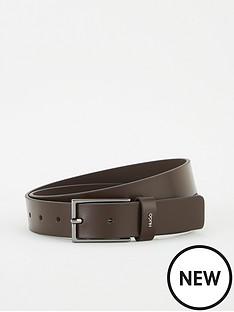 hugo-gild-leather-belt-brown