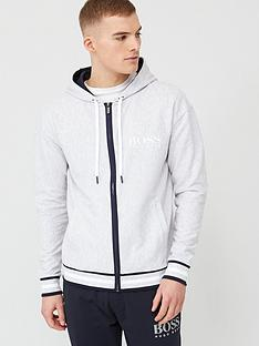 boss-bodywear-heritage-zip-through-hoodie-light-grey