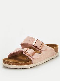 birkenstock-arizona-suede-two-strap-flat-sandal-light-rose