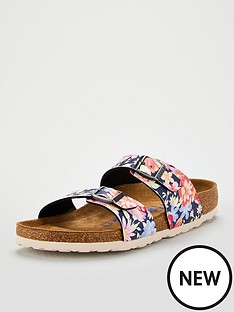 birkenstock-sydney-floral-print-flat-sandal-navy