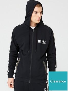 boss-bodywear-authentic-zip-through-hoodie-black