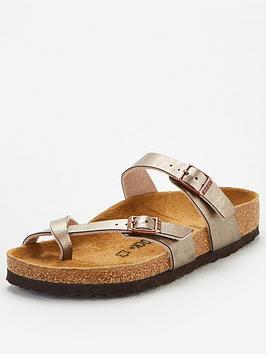 birkenstock-mayari-metallic-flat-sandal-taupe
