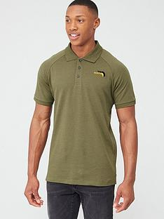 the-north-face-raglan-jersey-polo-olive