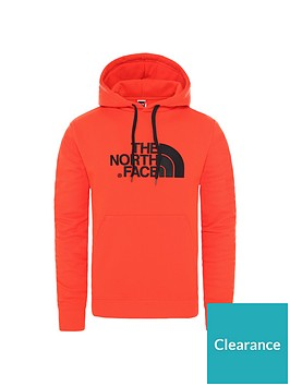 the-north-face-drew-peak-pullover-hoodie-rednbsp