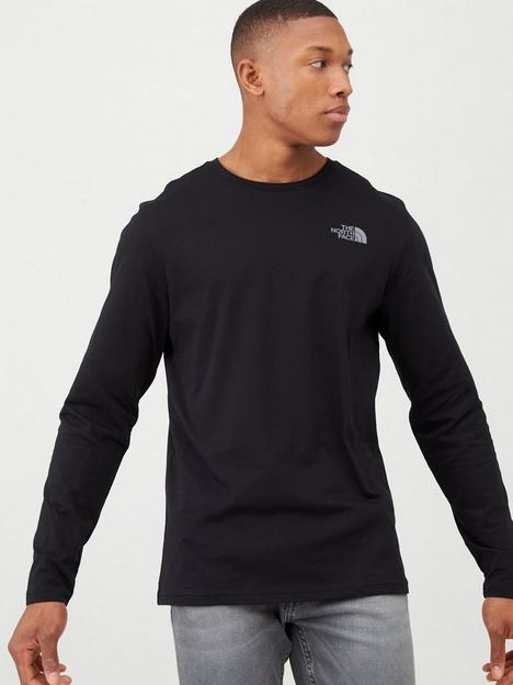 the-north-face-long-sleeve-easy-t-shirt-black