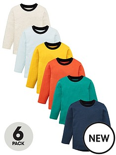 v-by-very-boys-6-pack-long-sleeved-t-shirts-multi