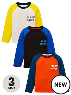 v-by-very-boys-3-pack-slogan-long-sleeve-raglan-t-shirt-multi