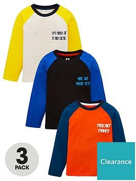 v-by-very-boys-3-pack-slogan-long-sleeve-raglan-t-shirt-multi