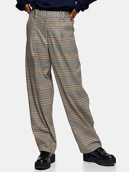 topshop-check-lulu-elastic-back-ovoid-trousers-multi