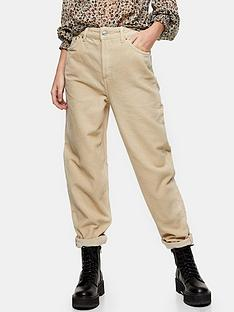 topshop-topshop-32-cord-balloon-leg-jeans-ecru