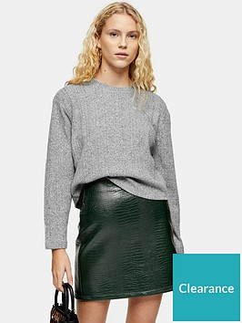 topshop-topshop-split-back-cut-and-sew-jumper-grey