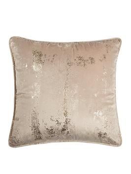 michelle-keegan-home-embossed-velvet-cushion