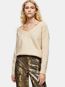 topshop-brushed-off-shoulder-jumper-oatmeal