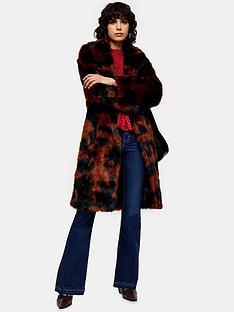 topshop-topshop-moo-print-faux-fur-coat-multi