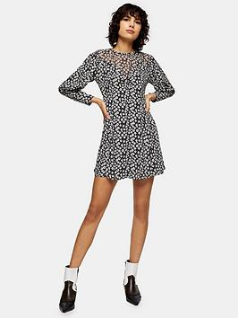 topshop-topshop-twist-grunge-mini-dress-mono