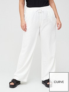 v-by-very-curve-linen-blend-trouser