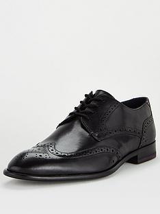 ted-baker-trvss-leather-brogue-shoes-black