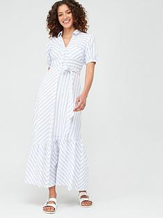 v-by-very-asymmetrical-hem-maxinbspdress-stripe