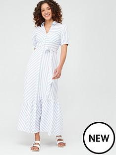 v-by-very-asymmetrical-hem-midaxi-dress-stripe