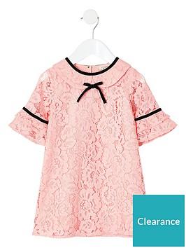 river-island-mini-mini-girls-lace-shift-dressnbsp-nbsppink