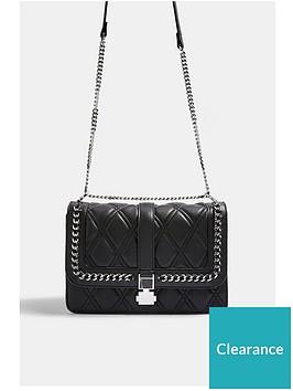topshop-laura-chain-shoulder-bag-black