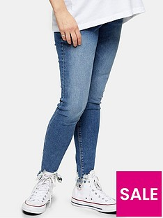 topshop-maternity-under-bump-jagged-hem-jamie-jeans-blue