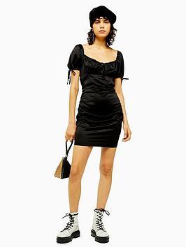 topshop-gypsy-prairie-satin-mini-dress-black