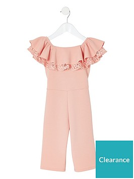 river-island-mini-mini-girls-bardot-ruffle-jumpsuit-pink