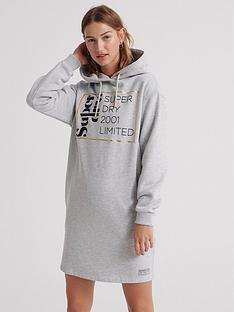 superdry-oversized-scandi-hoodednbspdress-greynbsp