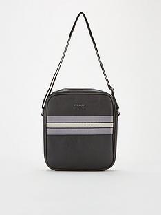 ted-baker-oppium-webbing-flight-bag-black