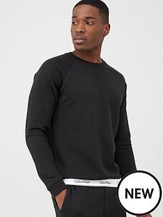 calvin-klein-modern-cotton-crew-lounge-top-black