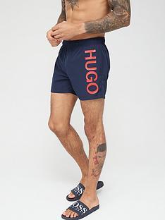 hugo-abas-logo-swim-shorts-blue