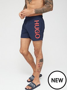 hugo-abas-logo-swim-shorts-blue
