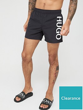 hugo-abas-logo-swim-shorts-black