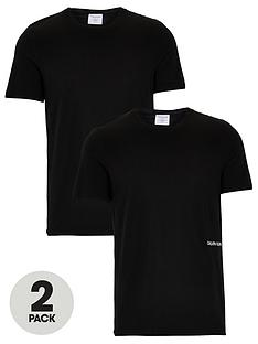 calvin-klein-2-pack-of-statement-1981-slim-fit-t-shirts-black