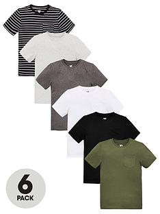 v-by-very-boys-6-pack-short-sleeve-pocket-t-shirts-blackgreykhaki