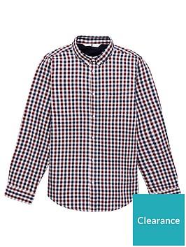 v-by-very-boys-long-sleeve-check-shirt-blue