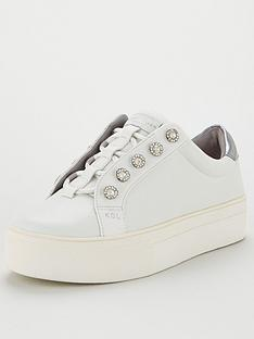 kurt-geiger-london-liviah-trainers-silver