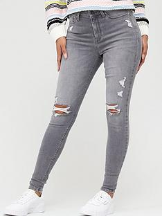 v-by-very-ella-irregular-rip-skinny-jean-grey