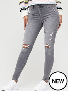 v-by-very-ella-irregular-rip-skinny-jean-grey