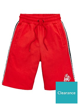 kings-will-dream-boys-ford-jog-shorts-red