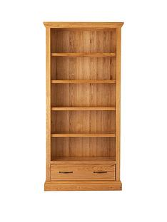 kingston-100-solid-wood-ready-assembled-bookcase