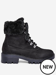 dorothy-perkins-dorothy-perkins-wide-fit-millie-fur-hiker-style-boots-black