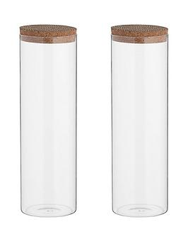 typhoon-monochrome-set-of-two-18-litre-storage-jars-with-cork-lids