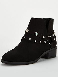 v-by-very-fliss-studded-western-boot-black